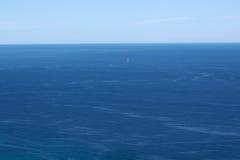 Beautiful blue sea horizon Stock Images