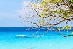 Beautiful blue sea at Koh Miang in Mu Koh Similan, Thailand Stock Image