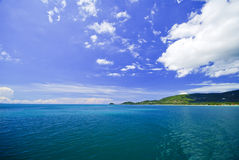 Beautiful blue sea from Similan South Thailand, Asia Royalty Free Stock Photography