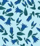 Pattern, leaf, nature, flower, abstract, illustration, floral, white, seamless, art, butterfly, decoration, plant, wallpaper, orna royalty free illustration