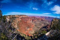 Wahalla Overlook, Grand Canyon National Park stock photography