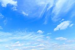 Beautiful blue sky Royalty Free Stock Photography