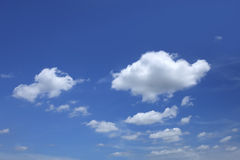 Beautiful blue sky Royalty Free Stock Image