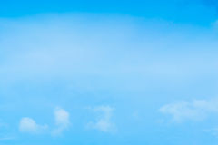Beautiful Blue Sky Background Template With Some Space for Input. Text Message Royalty Free Stock Images