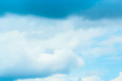 Beautiful Blue Sky Background Template With Some Space for Input. Text Message Stock Image