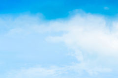 Beautiful Blue Sky Background Template With Some Space for Input. Text Message Royalty Free Stock Photo