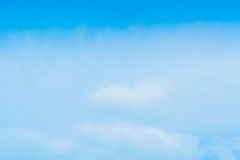 Beautiful Blue Sky Background Template With Some Space for Input. Text Message Stock Photography