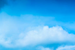 Beautiful Blue Sky Background Template With Some Space for Input. Text Message Stock Photos