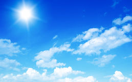 Beautiful Blue Sky Stock Image