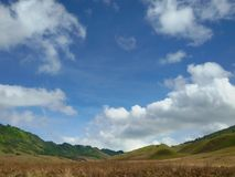 Beautiful blue sky Stock Photography
