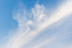 Beautiful of blue sky with cloud. Stock Images