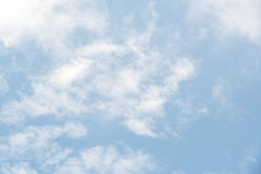 Beautiful blue sky with cloud Stock Image
