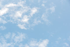 Beautiful blue sky with cloud Royalty Free Stock Image