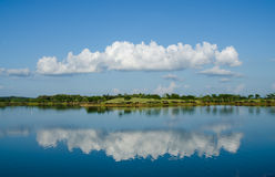 Beautiful blue sky and cloud. Beautiful blue sky and white cloud Royalty Free Stock Image