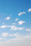 Beautiful blue sky Stock Image