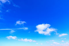 beautiful blue sky and clouds stock photos