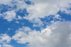 Beautiful blue sky with cumulus clouds. Beautiful blue sky with a cumulus clouds Stock Photos
