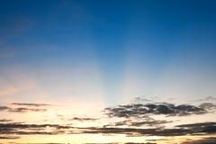 Beautiful Sunshine at morning sky Stock Photos