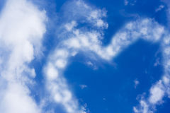 Beautiful blue sky and some clouds Royalty Free Stock Photos