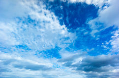 Beautiful blue sky Stock Photos