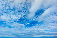 Beautiful blue sky Royalty Free Stock Images