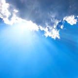 Beautiful blue sky Stock Photos