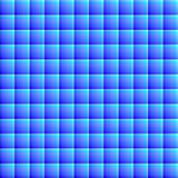 Beautiful blue squares geometric background vector illustration Stock Images