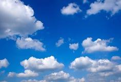 Beautiful blue summer sky Stock Image