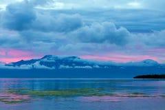 Beautiful blue twilight sunset Royalty Free Stock Photography