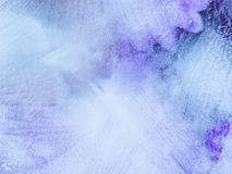 Beautiful blue-violet organic Ice abstraction Royalty Free Stock Image