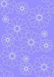 Beautiful in blue wallpaper Royalty Free Stock Photos