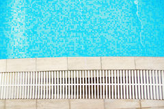 Beautiful blue water pool Royalty Free Stock Photography