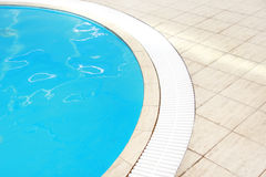 Beautiful blue water pool Stock Photography
