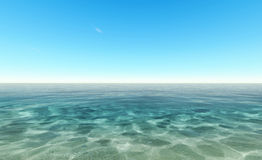 Beautiful blue water Stock Photography