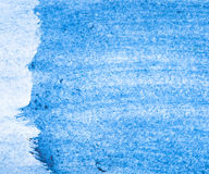 Beautiful blue watercolor background Stock Image