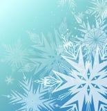 Beautiful blue winter background Royalty Free Stock Image