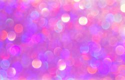 Beautiful blurry pink background. Festive bokeh light for your design royalty free stock photos