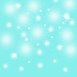 Beautiful blurry snowy sky background Royalty Free Stock Image