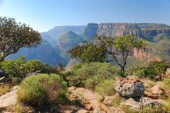 The beautiful Blyde Canyon, South Africa Stock Image