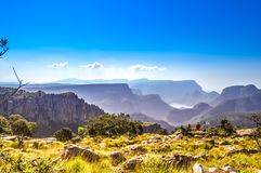 Beautiful Blyde river canyon near three rondavels in Sabie Graskop Mpumalanga South Africa royalty free stock images
