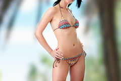 Beautiful body in bikini Stock Photo