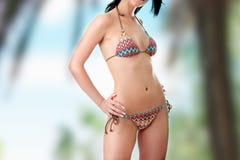Beautiful body in bikini Stock Photo