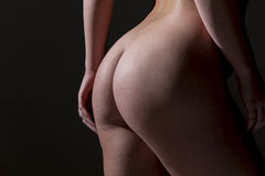Beautiful Body Of A Female Model Royalty Free Stock Image