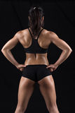 Beautiful body of fitness woman Stock Images