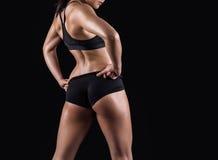 Beautiful body of fitness woman Stock Image