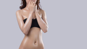 Beautiful body of woman Royalty Free Stock Image