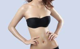 Beautiful body of woman Royalty Free Stock Photos