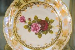 Beautiful bohemian plate Stock Images
