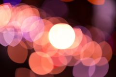 Beautiful of Bokeh Stock Images