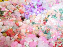 Beautiful bokeh abstract background stock photography